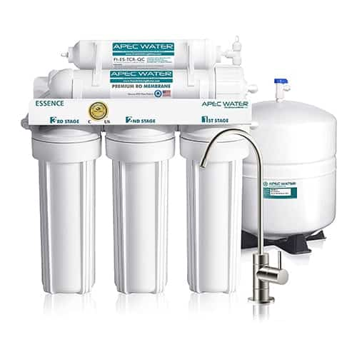 APEC Water Systems 5-Stage Certified Ultra Safe Reverse Osmosis Drinking Water Filter System