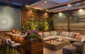 Patio heating options Infrared