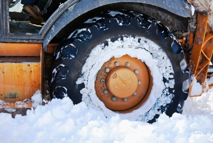 Gas-Powered Snow Shovels - Tires-wheels