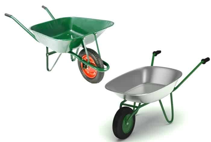 Which One is the Best – Poly vs. Steel Wheelbarrow